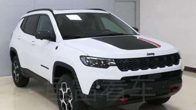 Jeep Compass Trailhawk 2021 [Ministério de Patentes China]