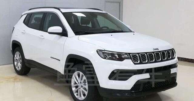 Jeep Compass 2021 [Ministério de Patentes China]