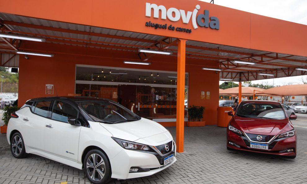 Nissan Leaf Movida [divulgação]