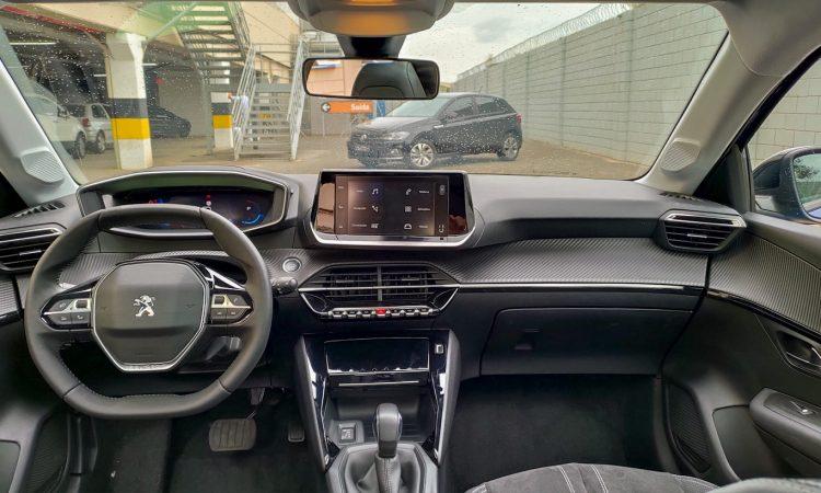 Interior do 208 Griffe [Auto+ / João Brigato]