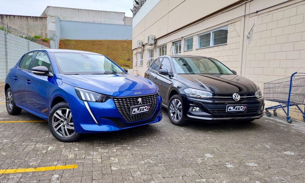 Peugeot 208 vs. Volkswagen Polo [Auto + / João Brigato]