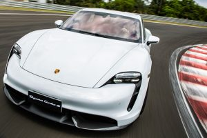 Porsche Taycan Turbo S [divulgação]