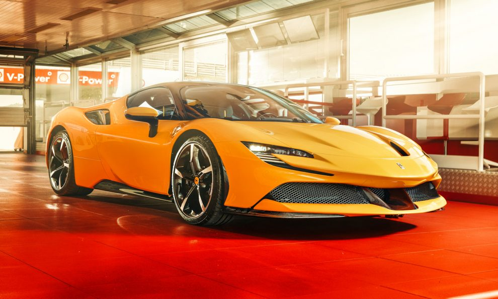 Ferrari SF90 deu menos trabalho para desenvolver que o SUV Ferrari Purossangue [divulgação]