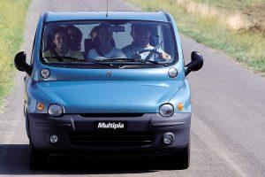 Fiat Multipla é um clássico nas listas de carros feios [divulgação]