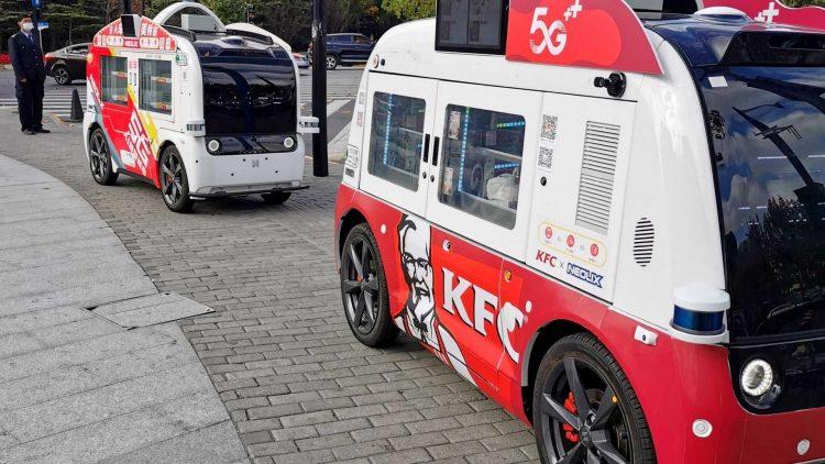 Carro autônomo KFC [divulgação]