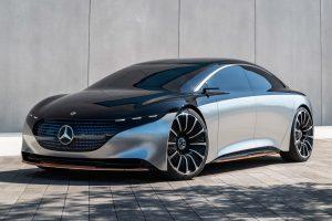 Mercedes-Benz Vision EQS [divulgação]