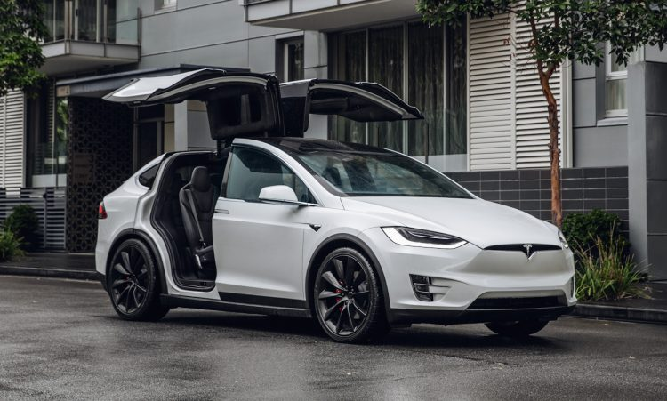 Tesla Model X [divulgação]
