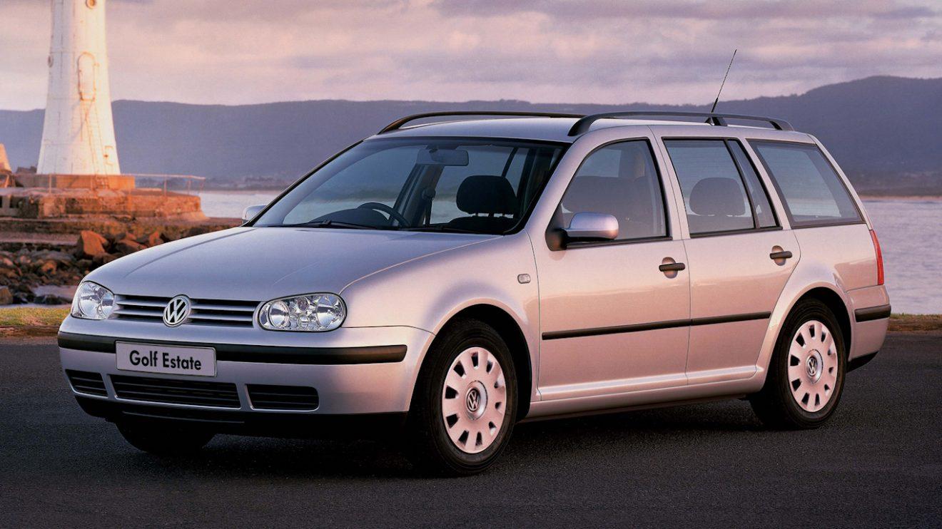 Volkswagen Golf Variant MK4 [divulgação] peruas