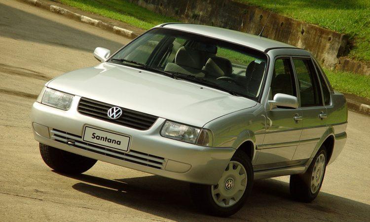 Volkswagen Santana [divulgação]