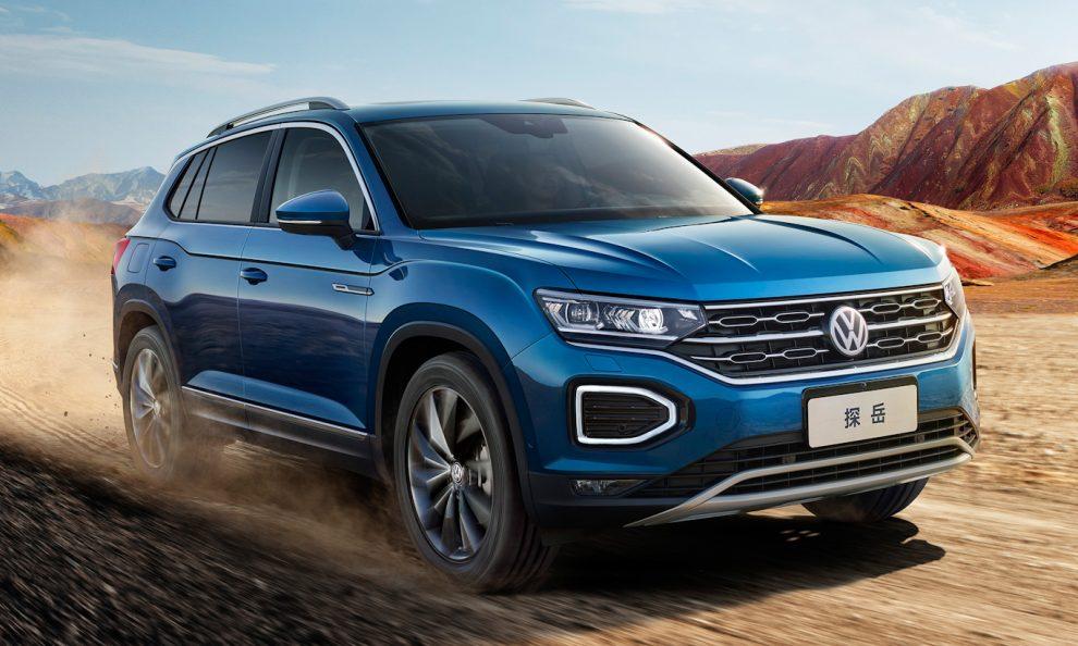 Volkswagen Tayron pode tomar o lugar do Tiguan [divulgação]