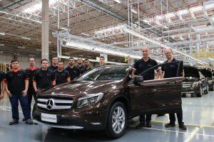 Fábrica Mercedes Iracemápolis encerra produção [divulgação]