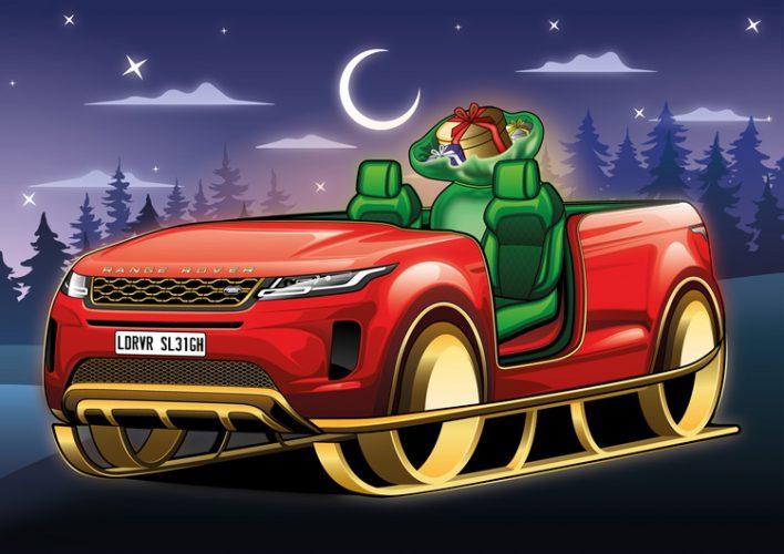 Trenó Land Rover Range Rover Evoque [divulgação]