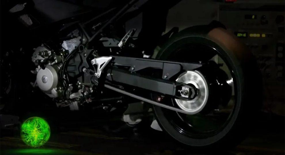 Kawasaki terá moto híbrida em breve [divulgação]
