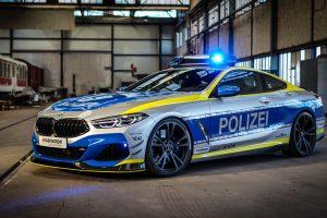 BMW Série 8 viatura policial da AC Schnitzer [divulgação]