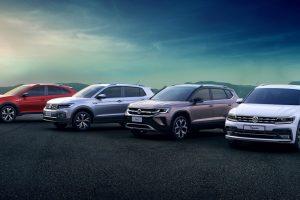 Linha de SUVs da Volkswagen [divulgação]