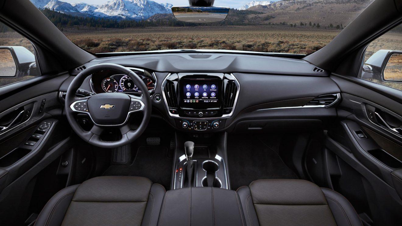 Chevrolet Traverse [divulgação]
