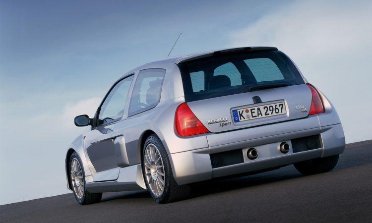 Renault Clio V6 [divulgação]
