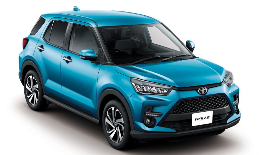 Toyota Raize [divulgação]
