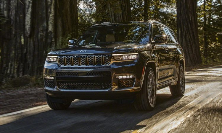 Jeep Grand Cherokee L [divulgação]
