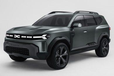 Dacia Bigster Concept [divulgação] Renault Duster