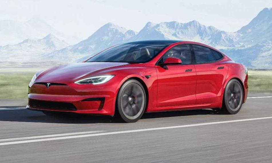 Tesla Model S Plaid [divulgação]