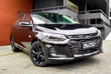 Chevrolet Onix Plus Midnight [Auto+ / João Brigato]