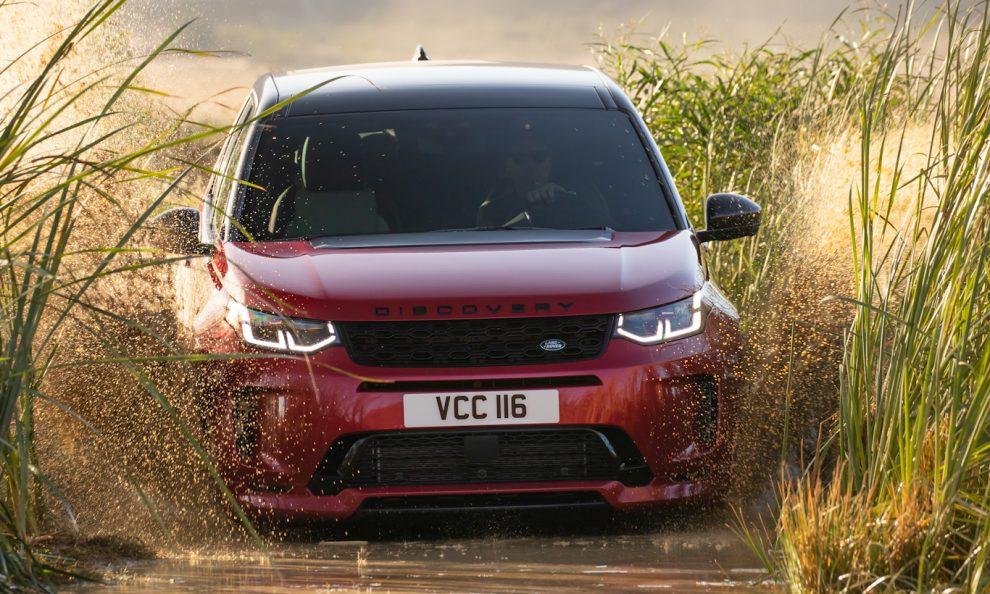 Land Rover Discovery Sport 2021 [divulgação]
