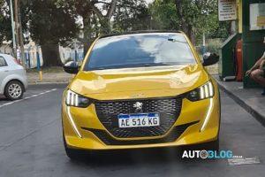 Peugeot 208 GT LIne turbo [Argentina Autoblog]