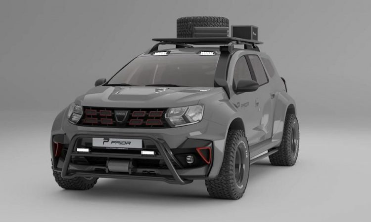 Dacia (Renault) Duster Widebody Off-Road Prior Design [divulgação]