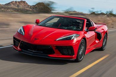 Chevrolet Corvette Stingray [divulgação]