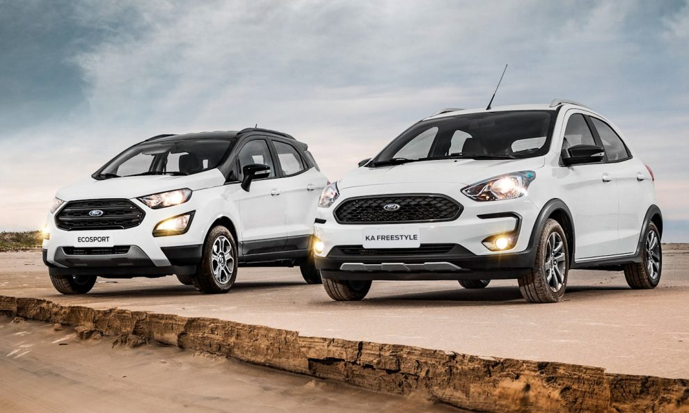 Ford EcoSport e Ka [divulgação]