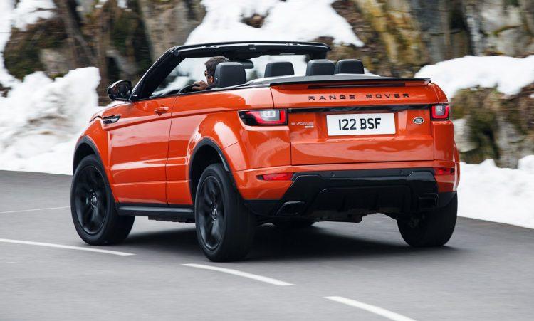 Land Rover Range Rover Evoque Conversível [divulgação]