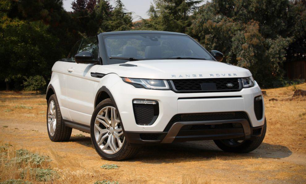 Land Rover Range Rover Evoque Conversível [divulgação] fabricantes de carros