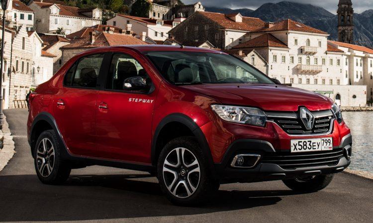 Renault Logan Stepway [divulgação]