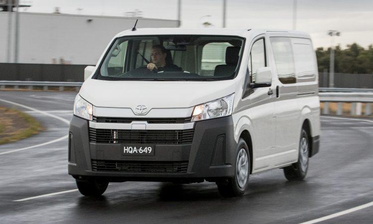 Toyota HiAce [divulgação]