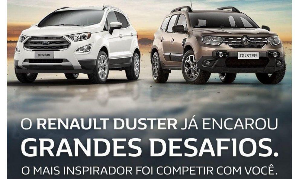 Duster EcoSport [divulgação]