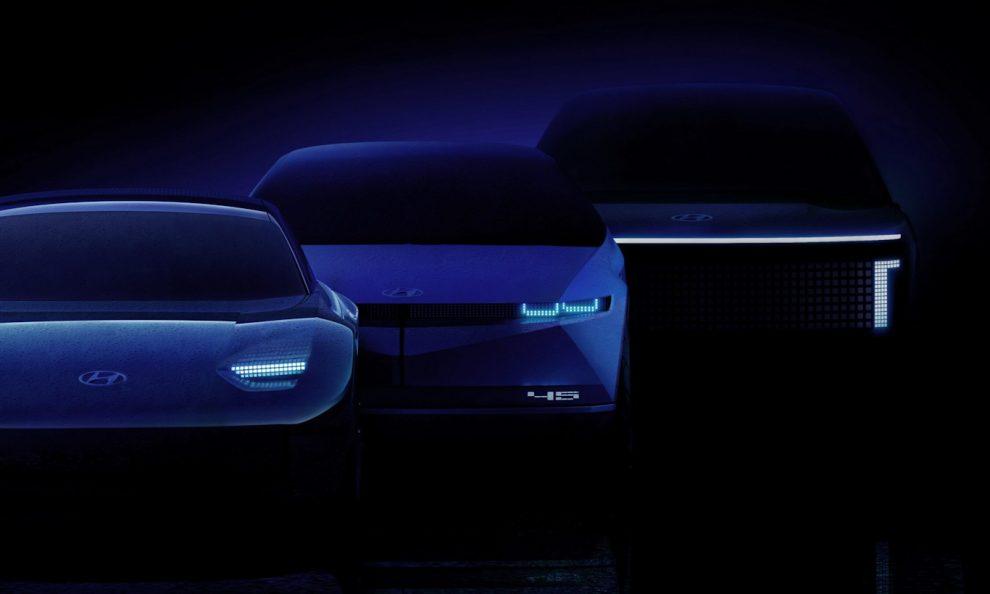 Hyundai Ioniq teaser [divulgação] Apple carro