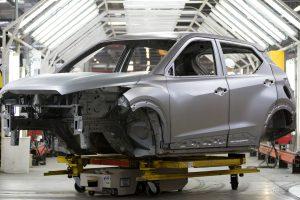 Produção Nissan Kicks 2022 [divulgação]