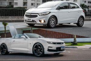 Chevrolet Joy Black e Camaro SS conversível [divulgação] carro mais caro carro mais barato
