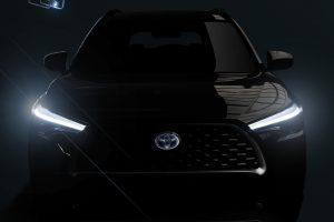Toyota Corolla Cross teaser [divulgação]