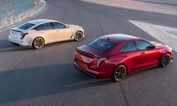 Cadillac CT4-V Blackwing e CT5-V Blackwing [divulgação]