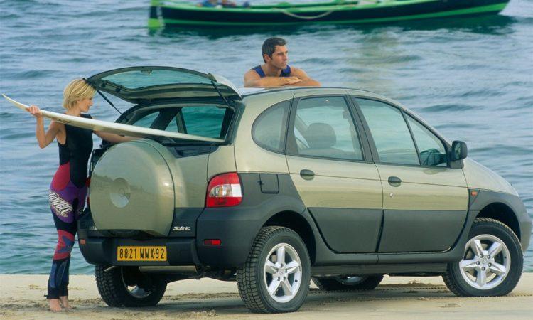 Renault Scénic RX4 [divulgação]