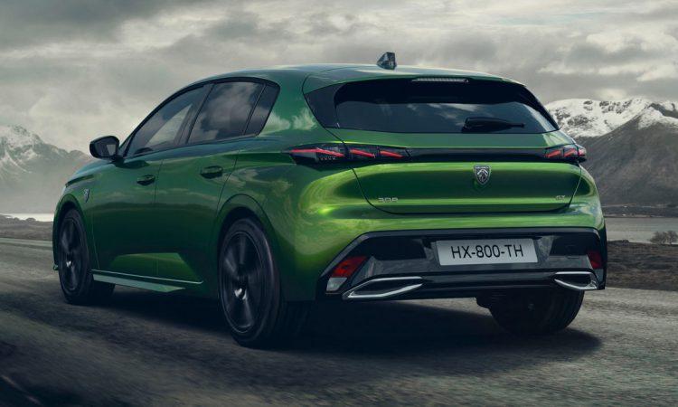 Peugeot 308 2022 [divulgação]