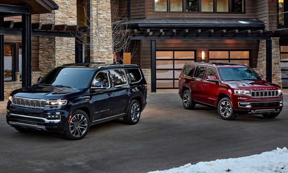Jeep Grand Wagoneer e Wagoneer [divulgação]