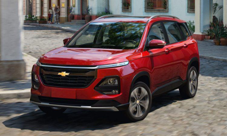 Chevrolet Captiva 2022 [divulgação]