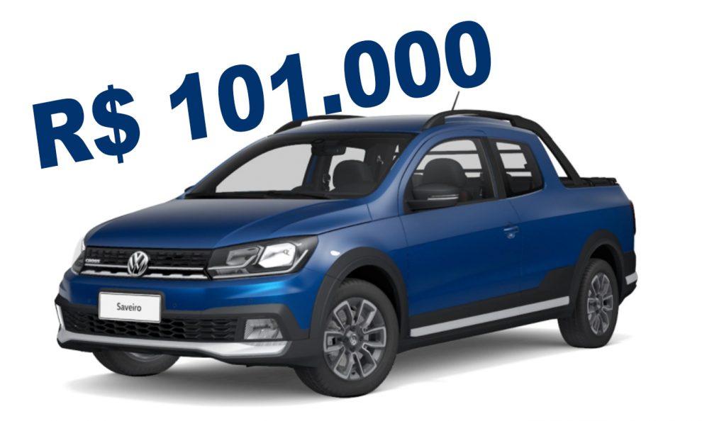 Volkswagen Saveiro Cross [divulgação]