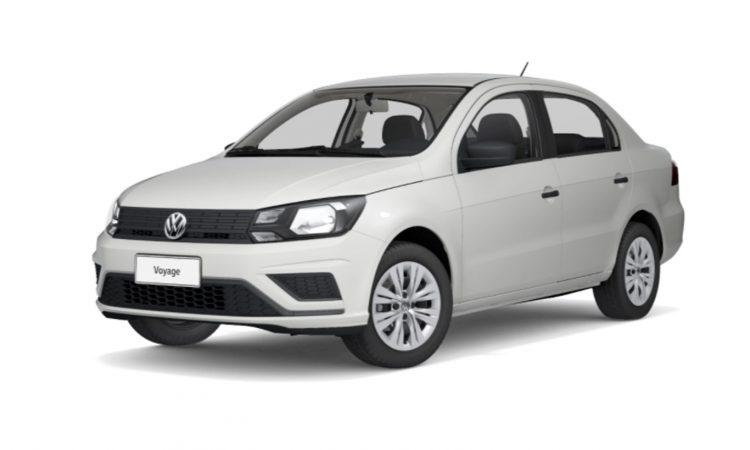 Volkswagen Voyage [divulgação]
