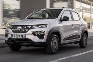 Dacia Spring [divulgação] Renault Kwid elétrico