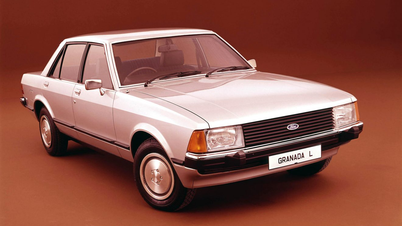 Ford Granada mk2 europeu [divulgação] carros