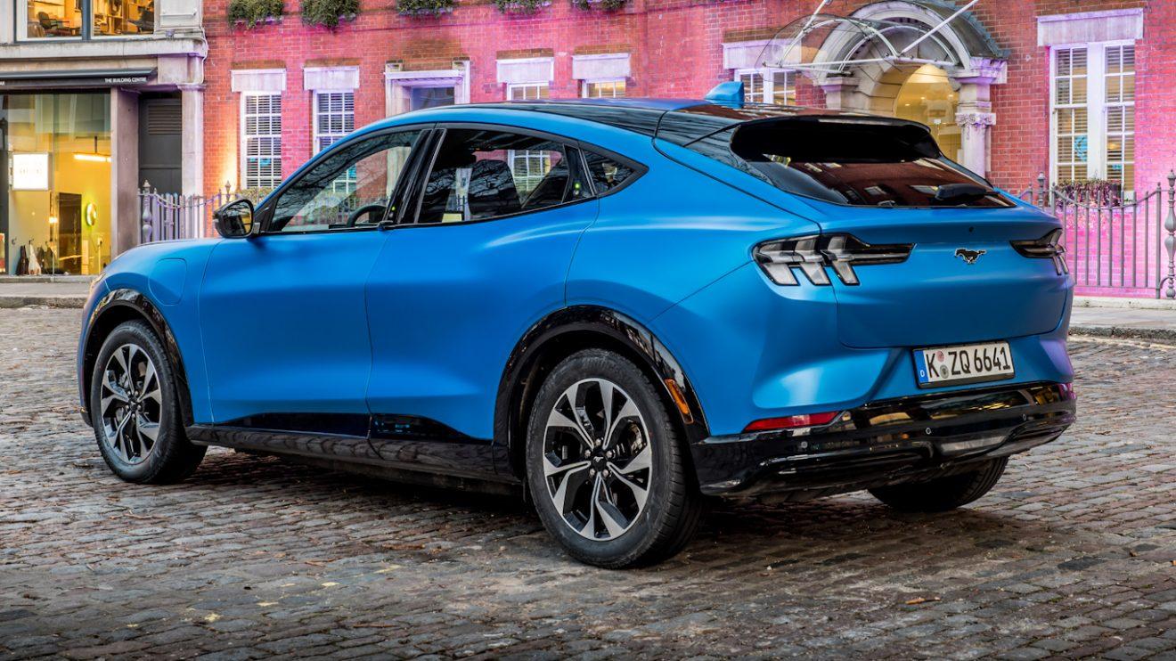 Ford Mustang Mach E [divulgação]